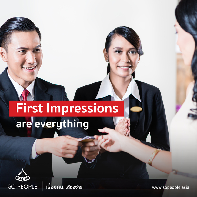 First Impressions are everything